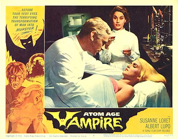 Atom Age Vampire Horror 105 Minutes Starring Alberto Lupo Susanne Loret Sergio Fantoni Franca Parisi Directed By Anton Giulio Majano Movie HD free download 720p