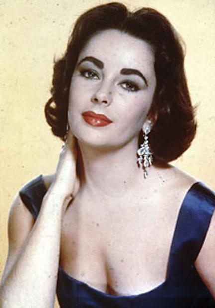 Dame Elizabeth Taylor Violet Eyes Legendary Actress The
