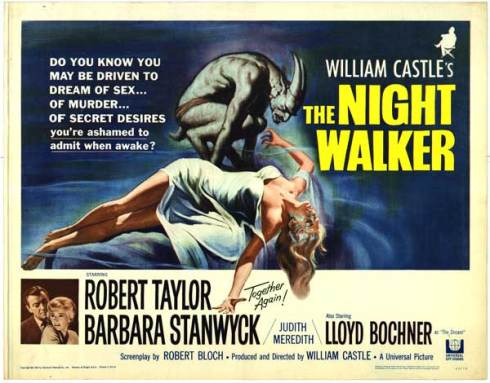 Image result for the night walker 1964