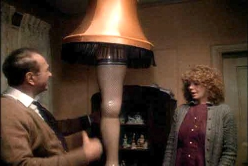 A Christmas Story Lamp.A Moment From A Christmas Story 1983 The Leg Lamp The
