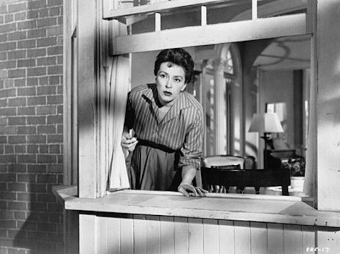 Nancy Kelly as Christine Penmark