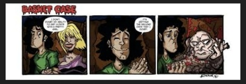 Fangoria's BasketCase comic strip