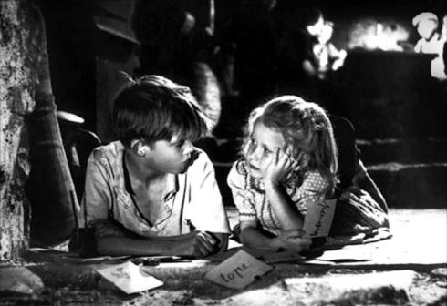 George Pujouly  Brigitte Fossey Forbidden Games Jeux interdits 1952 René Clément
