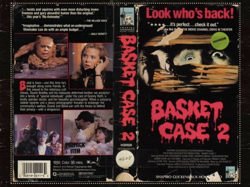 VHS Basket Case Cover