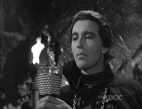 Alfred Hitchcock Hour The-Sign-Of-Satan with Christopher Lee as Karl-Jorla