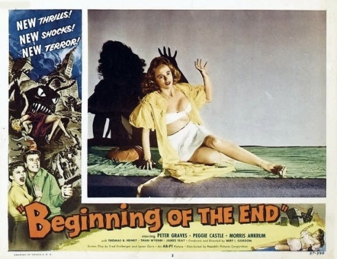 Beginning of the End lobby card