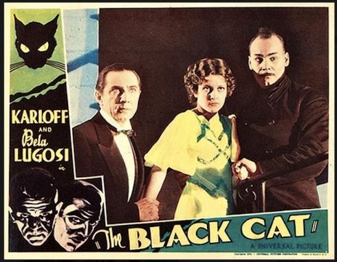 Black Cat Lobby Card