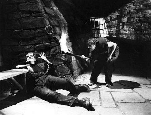 Boris Karloff  in Jame's Whales Frankenstein