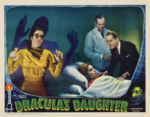 Dacula's Daughter lobby card