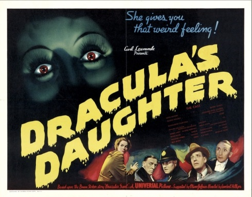 Dracula's Daughter film poster