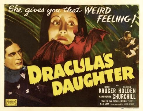 Dracula's Daughter poster 2