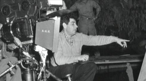 Edgar Ulmer in the directors seat
