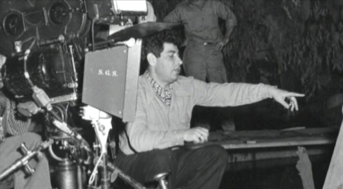 Edgar Ulmer in the directors seat