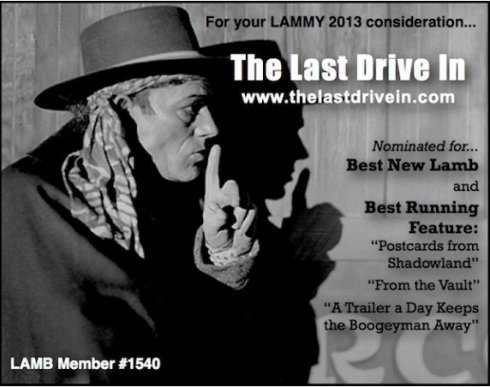 Lammy 2013 Last Drive In banner