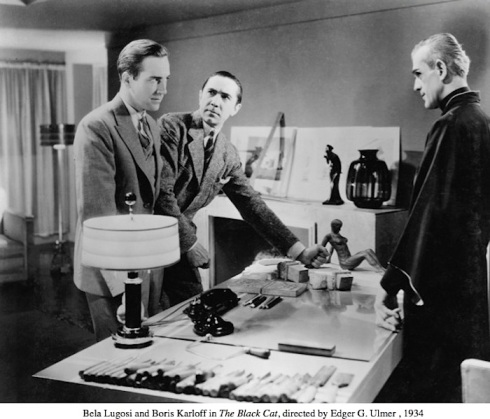 Manning, Karloff and Bela