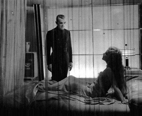Poelzig and Karen bedroom scene