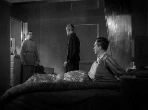 Poelzig enters Peters room