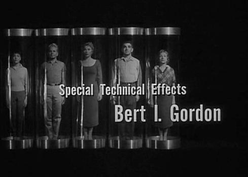 Special Technical Effects-Bert I. Gordon