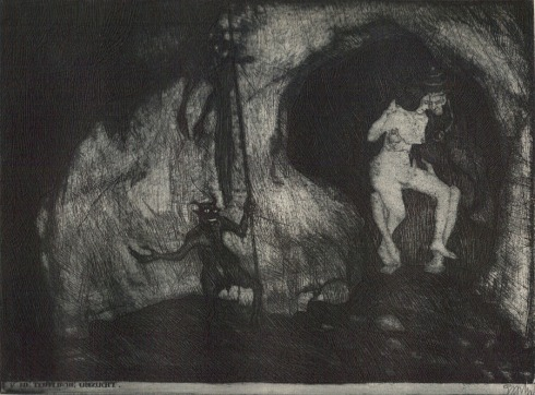 Stefan Eggeler-illustrations for Gustav Meyrink-Walpurgisnacht-(1922)