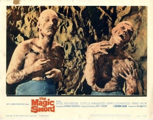 The Magic Sword lobby card