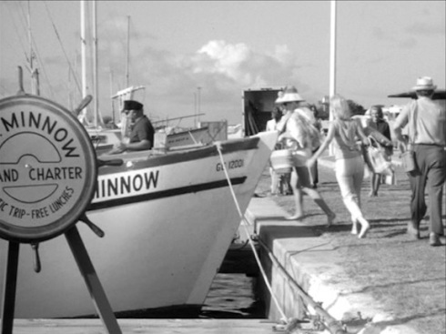 The SS Minnow Yacht of Gilligan's Island fame