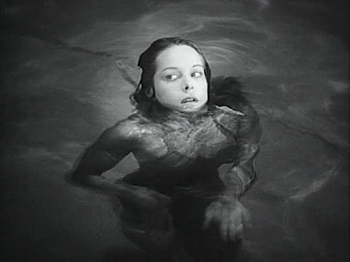 Cat People 1942 Alice at the pool