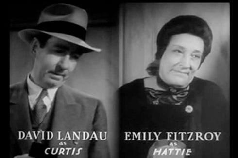 David Landau and Emily Fitzroy