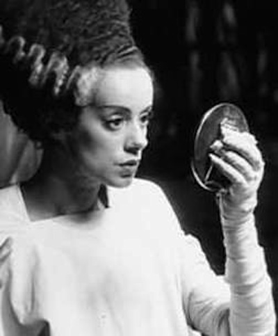 Elsa Lanchester as The Bride