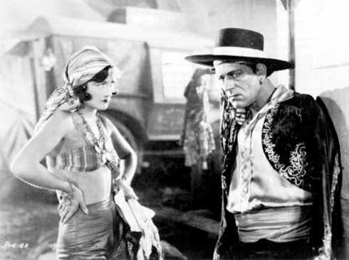 Lon Chaney andnJoan Crawford The Unknown