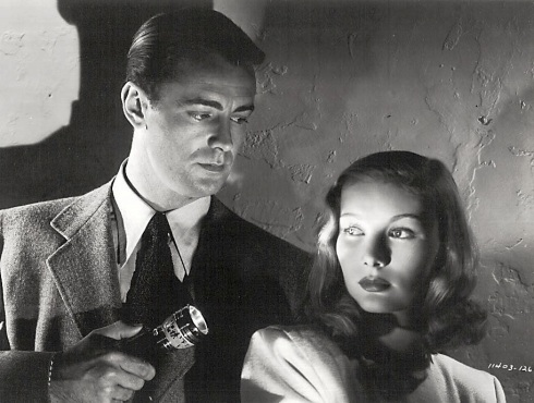 The blue dahlia alan ladd and veronica lake