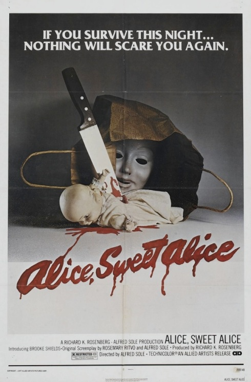Alice Sweet Alice film poster