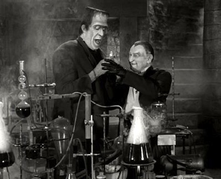 Grandpa and Herman in the lab