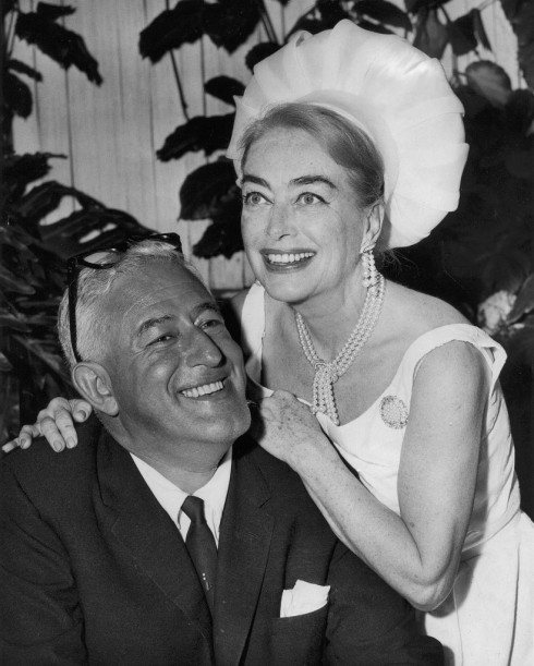 Joan Crawford and William Castle