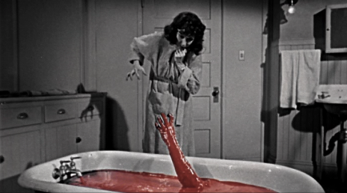 Judith Eveylin The Tingler Blood Bath