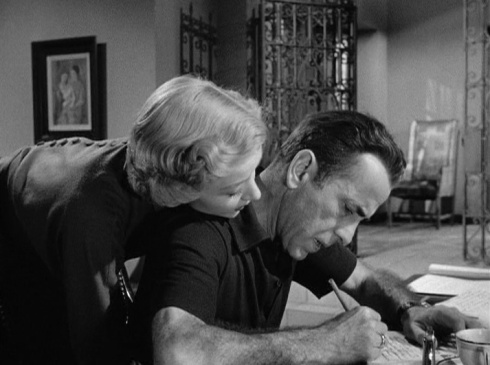 Grahame and Bogart In a Lonely Place