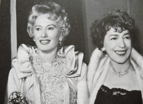 Barbara Stanwyck and HelenFerguson