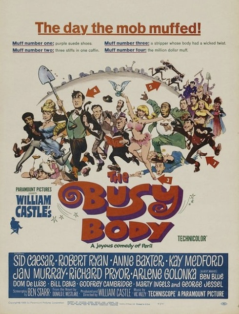 busy body film poster
