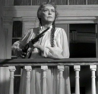 Charlotte with a gun