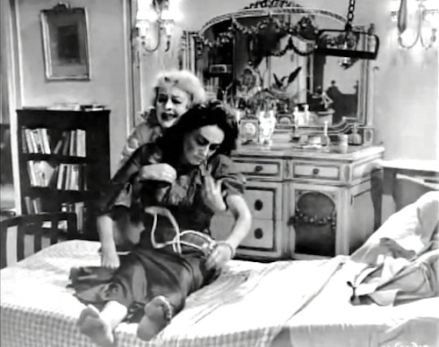 Jane lifts dying blanche bed