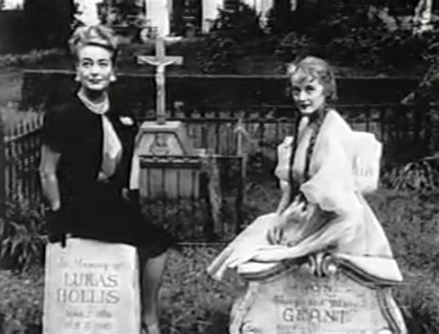 Joan and Bette grave promo shot