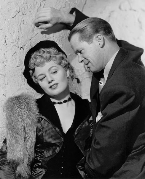 Shelley Winters and Dan Duryea Johnny Stool Pigeon