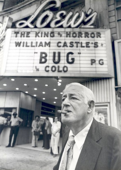 William Castle at Bug