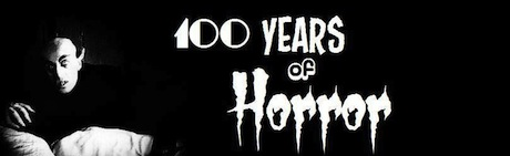 100 Years of Horror Logo