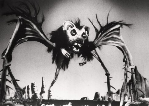 rat bat spider Angry Red Planet
