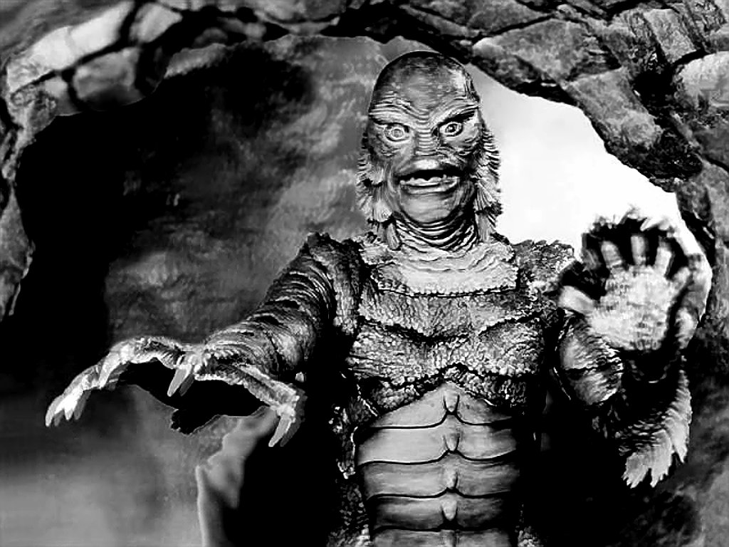 What is it about monsters that Classic Horror Monsters Wallpaper