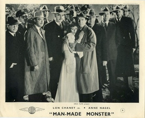 Anne Nagel Lon Chaney Lobby Card
