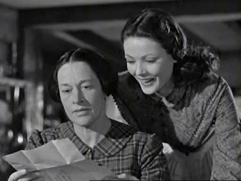 Anne Revere and Gene Tierney Dragonwyck