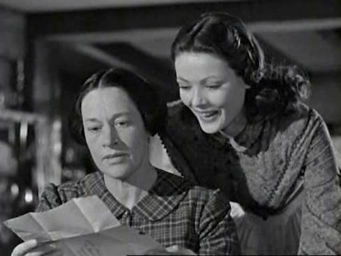 Anne Revere and Gene Tierney Dragonwyck