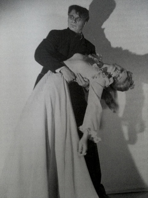 Evelyn and Bruce in the mad ghoul