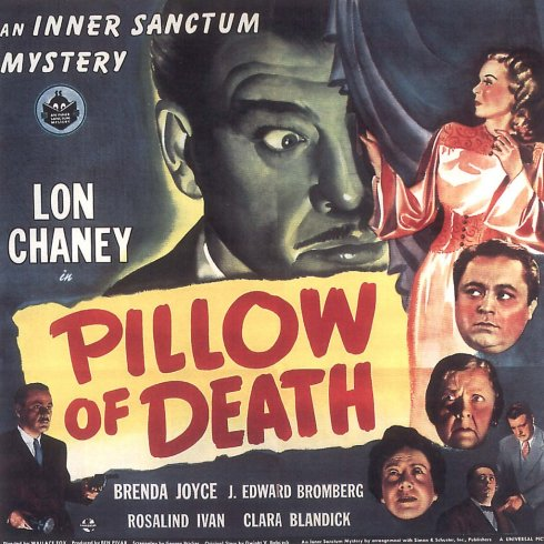 Pillow of Death Inner Sanctum mystery
